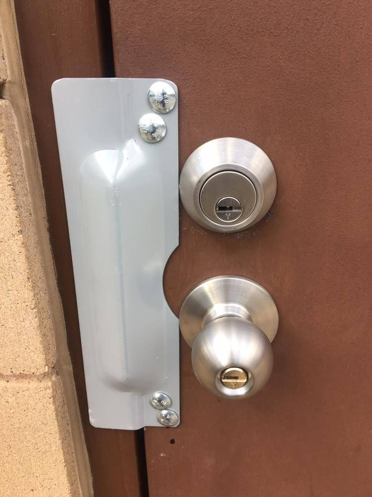 Commercial High Security Deadbolt And Door Knob With Cover