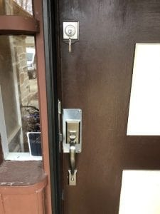 New setup of mortise lock, including handle