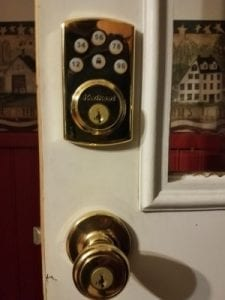Kwikset Keypad Installed