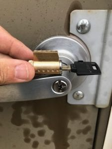 Handle Lock Rekey - You Can Keep The Same Handle, But Have a Different Key