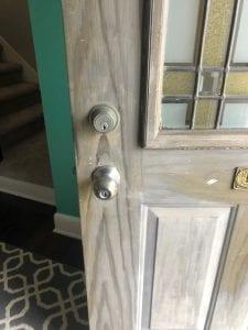 Old Locks On Door - Key Operated