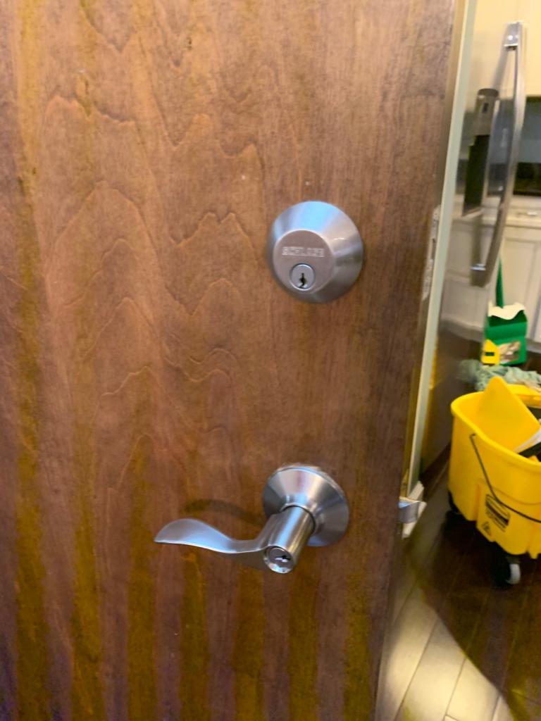 Schlage locks - Schlage Single Cylinder Deadbolt (top)